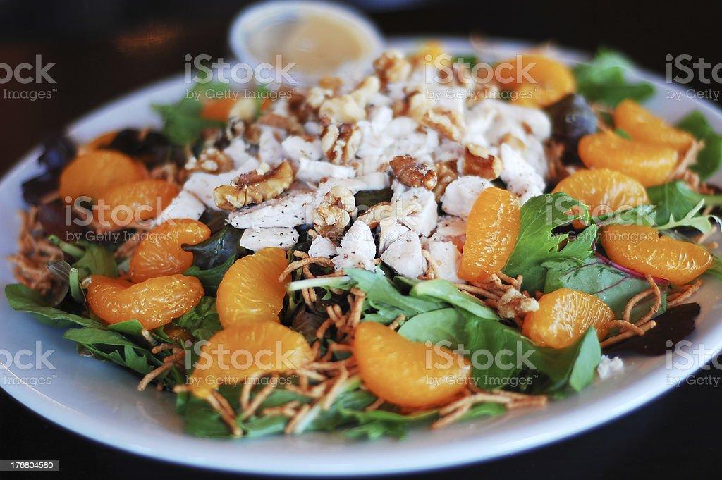 Asian chicken salad royalty-free stock photo