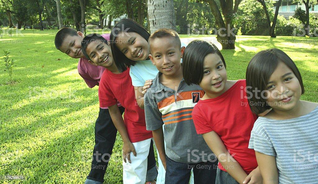 Asiatische Kinder (Serie Lizenzfreies stock-foto