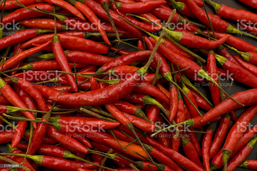 Asian Chilies royalty-free stock photo