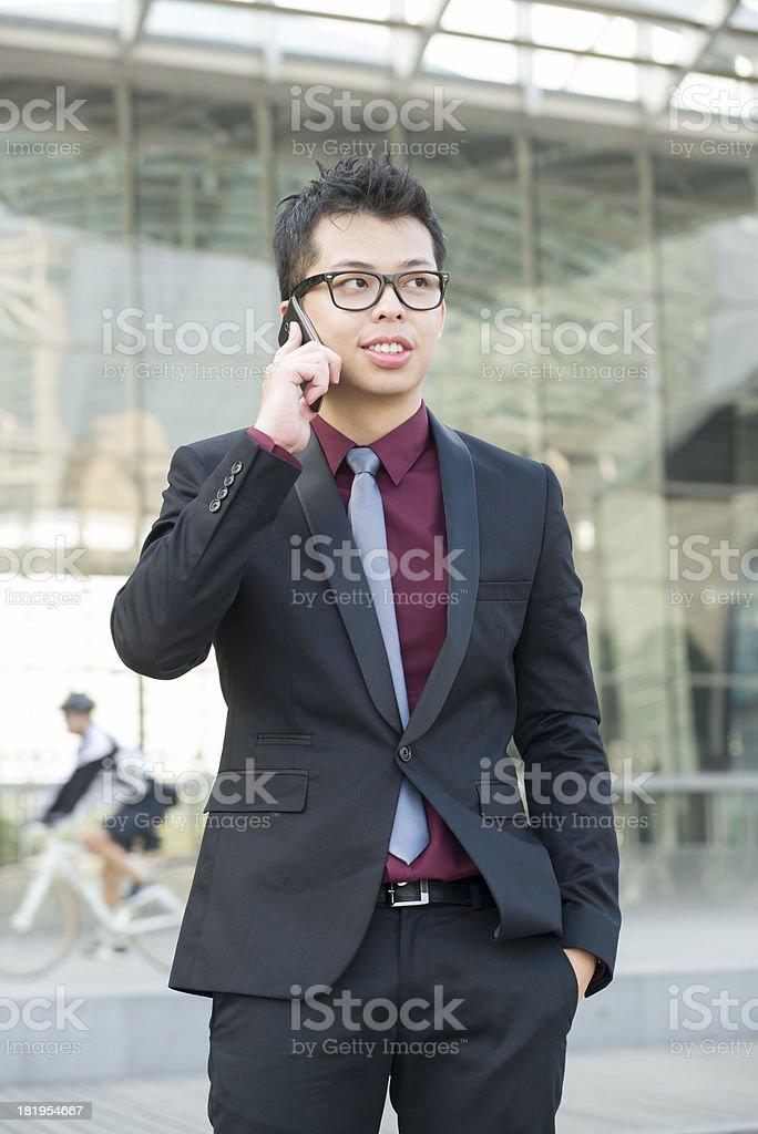 Asian Chinese businessman stock photo
