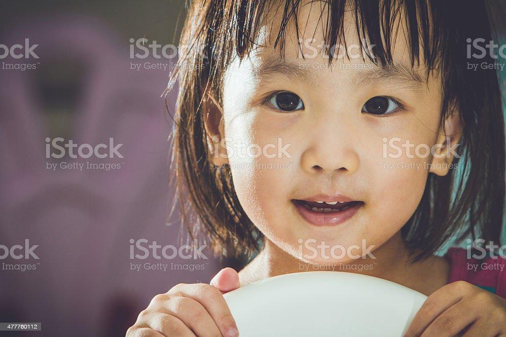 Asian Chinese Girl stock photo