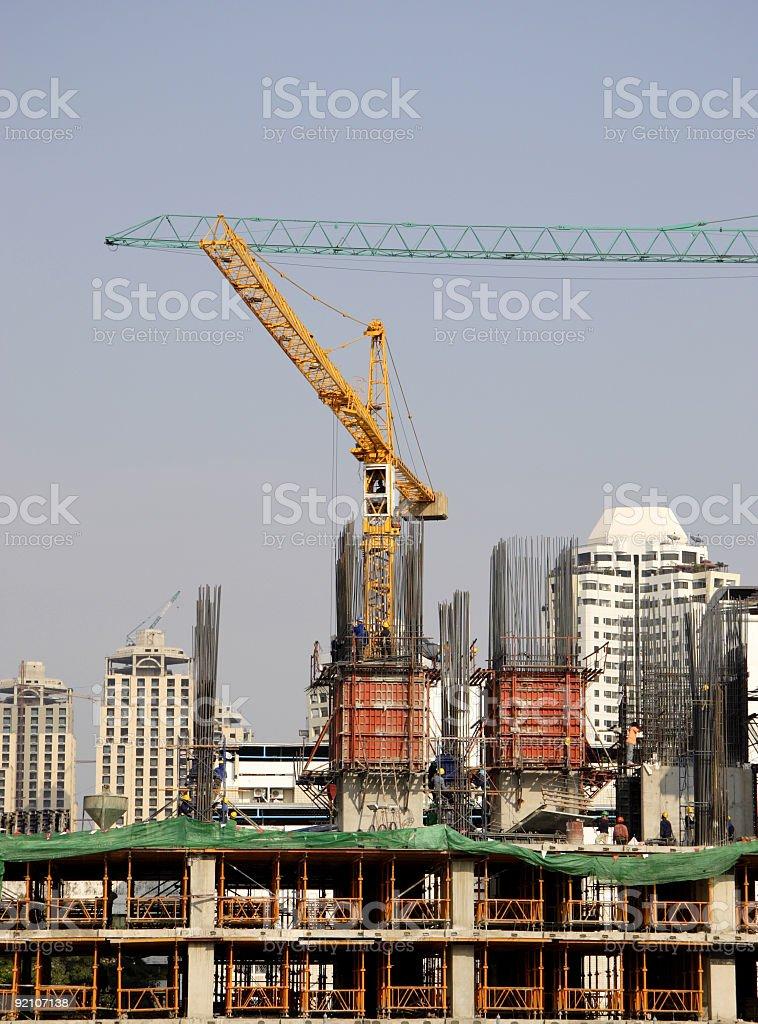 Asian construction 1 royalty-free stock photo