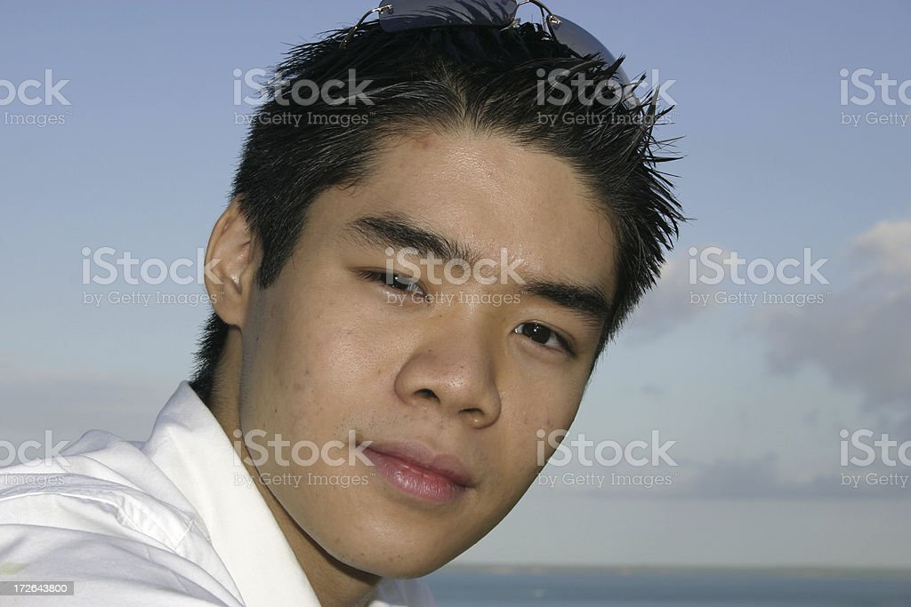 asian cool stock photo