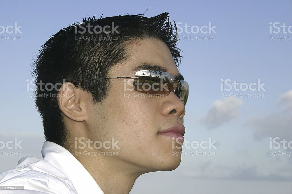 asian cool royalty-free stock photo