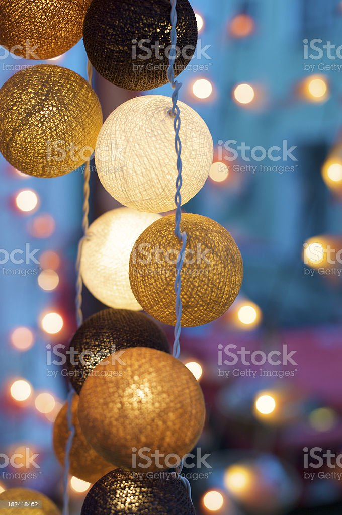 Asian decorative lights royalty-free stock photo