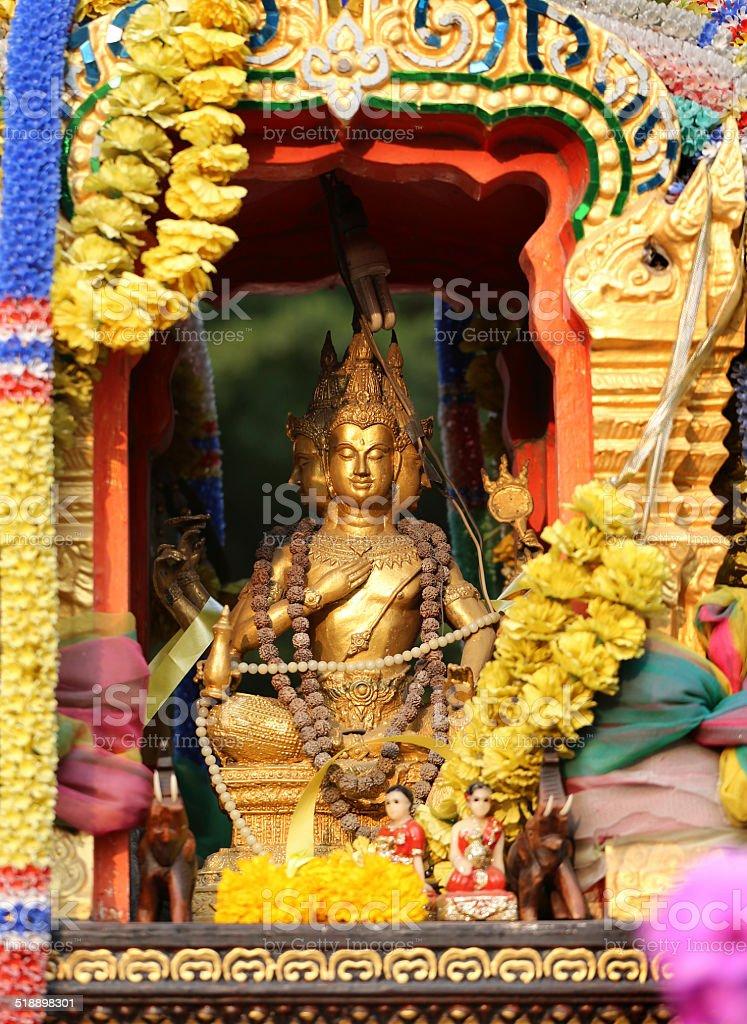 Asian deity stock photo