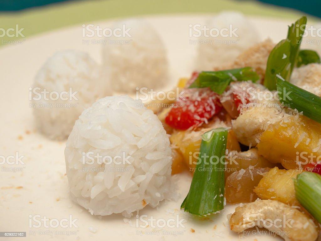 Asian dish stock photo
