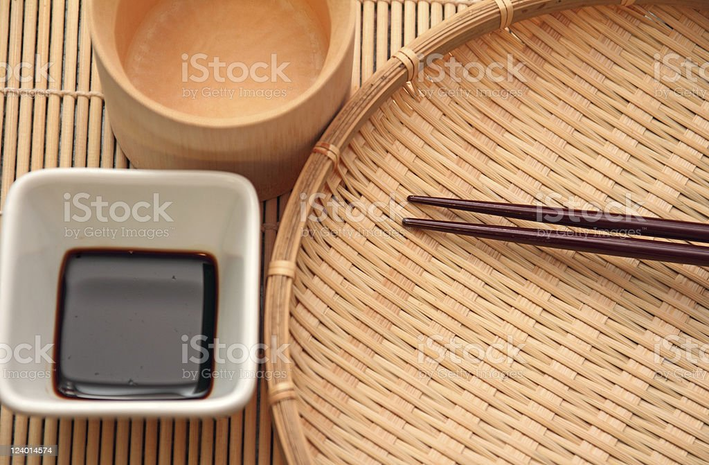 Asian Dishware royalty-free stock photo