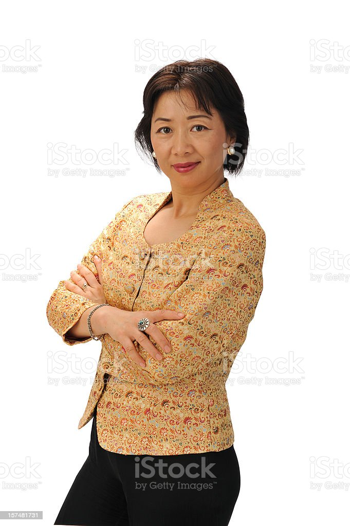 Asian executive royalty-free stock photo
