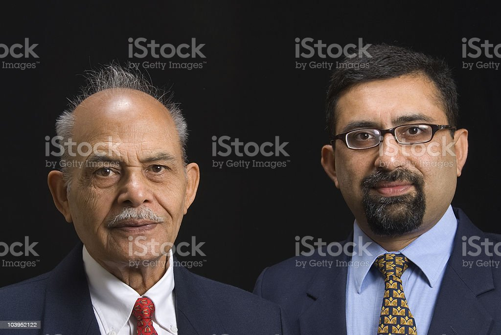 Asian executives royalty-free stock photo