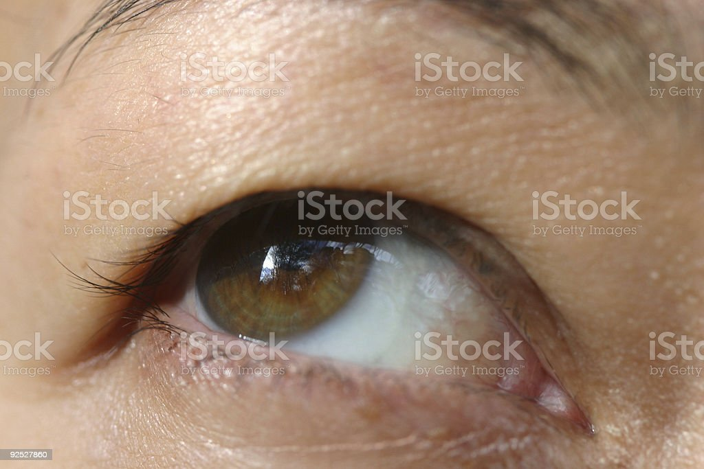 Asian Eye royalty-free stock photo