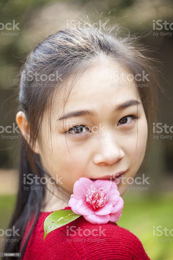 asian female royalty-free stock photo