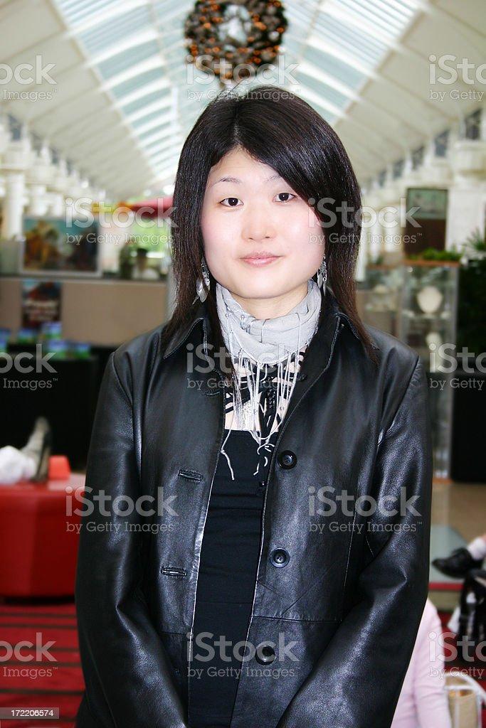 Asian Female stock photo