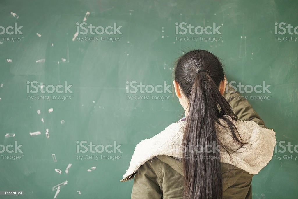 asian female student royalty-free stock photo