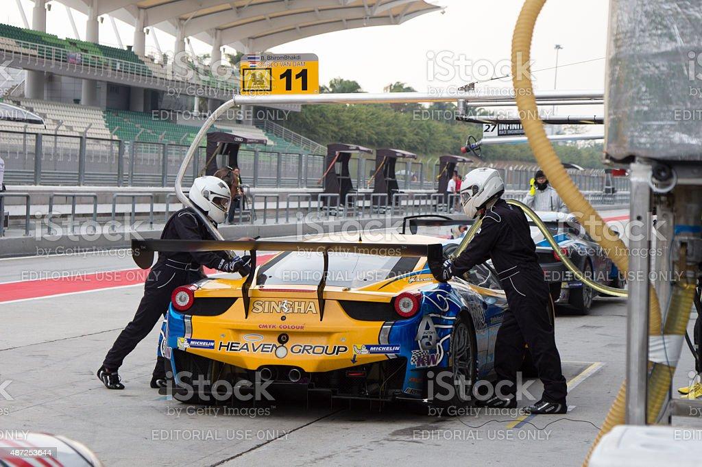Asian Festival of Speed, GT Asia main race, Sepang Malaysia stock photo
