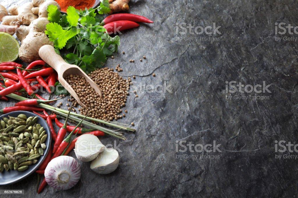 Asian Food: Asian Ingredients Still Life stock photo