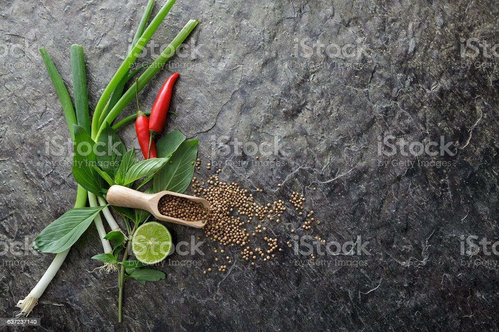 Asian Food: Ingredients for Asian Cooking Still LIfe stock photo