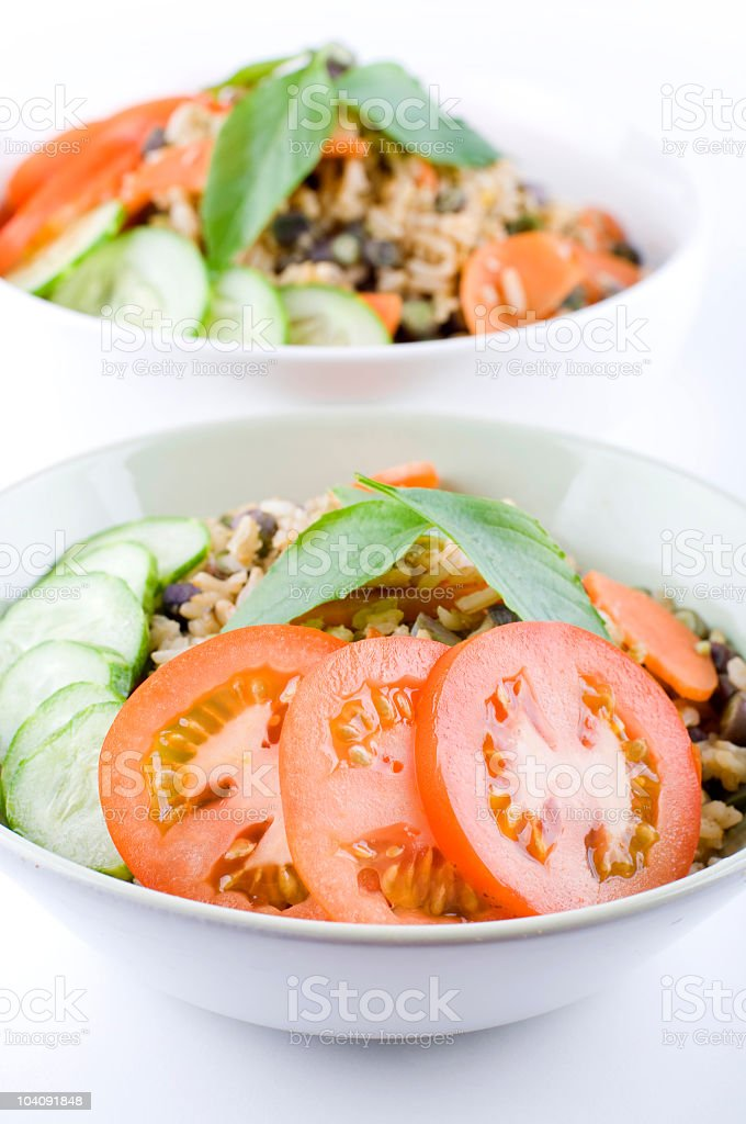 Asian Fried Rice royalty-free stock photo