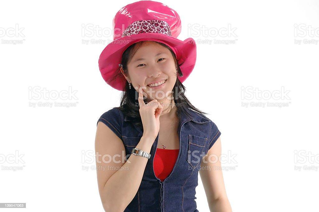 Asian Girl 2 royalty-free stock photo