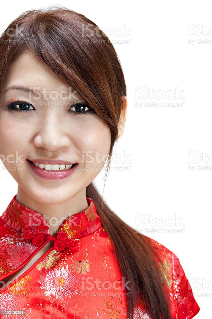 Oriental girl royalty-free stock photo
