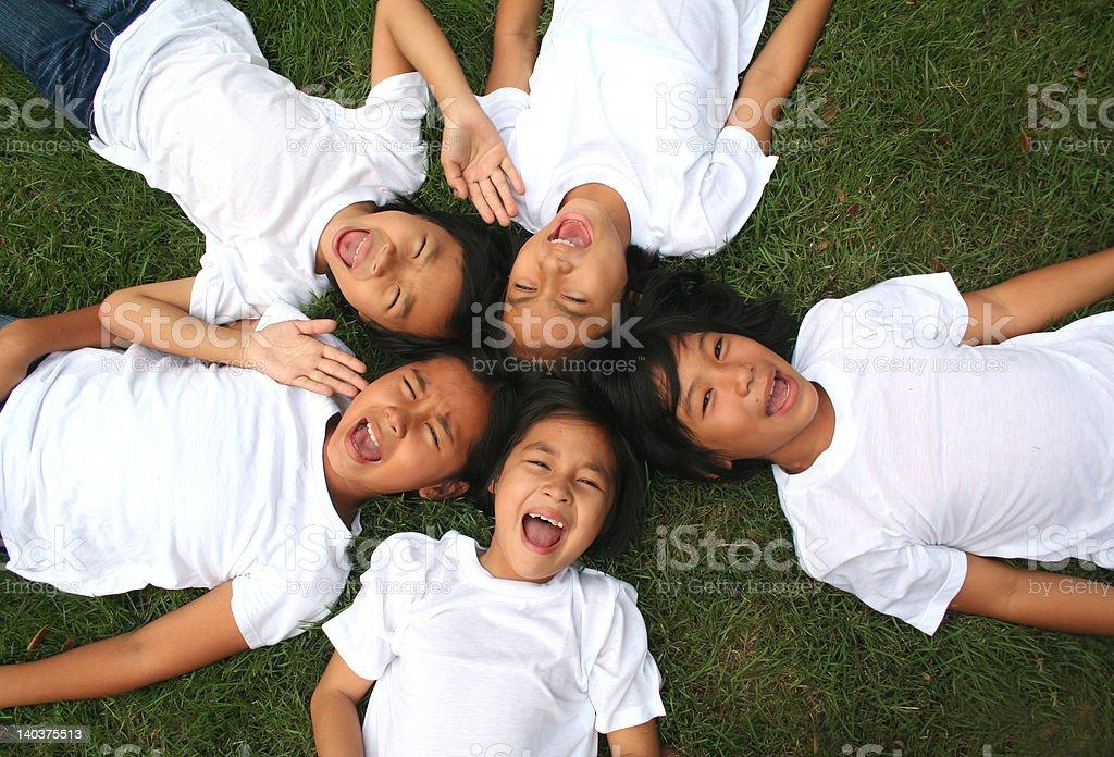 Asiatische Mädchen (Serie Lizenzfreies stock-foto