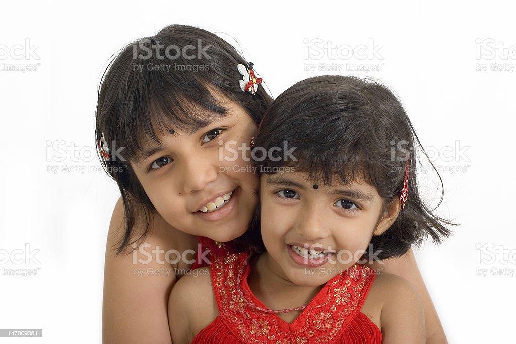 Asian girls royalty-free stock photo