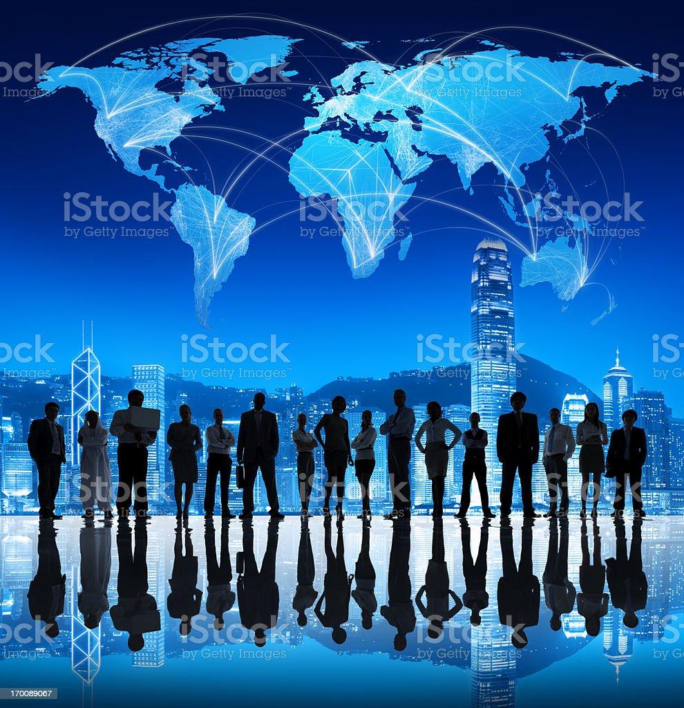 Asian Global Business. stock photo