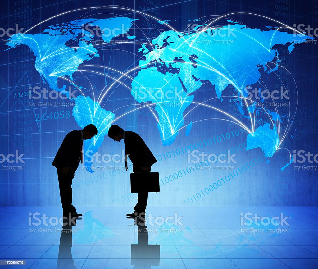 Asian Global Business. royalty-free stock photo