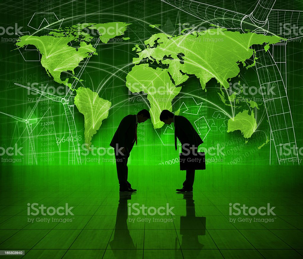 Asian Global Business. stock photo