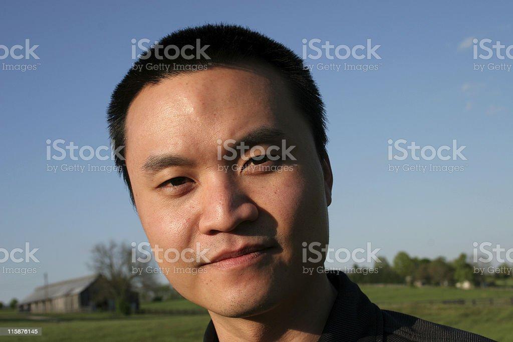 Asian Guy royalty-free stock photo