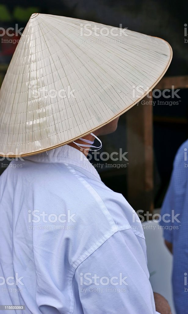 Asian Hat stock photo