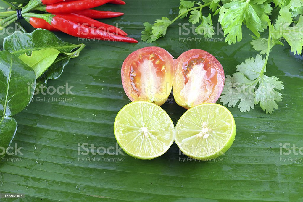 Asian ingredients food royalty-free stock photo