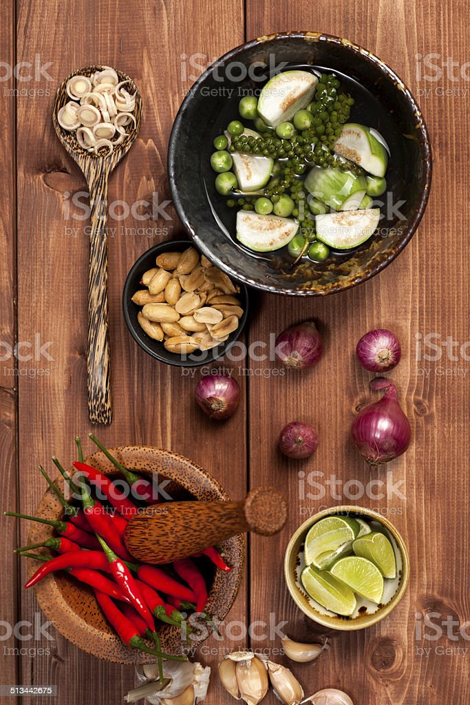 Asian Ingredients stock photo