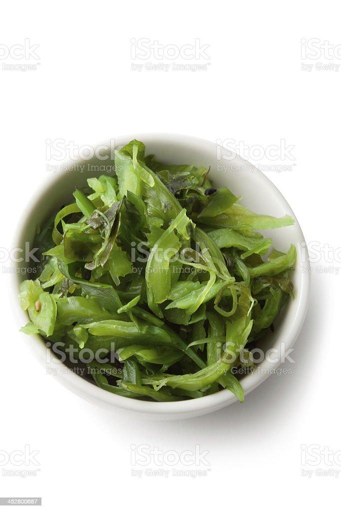 Asian Ingredients: Wakame stock photo