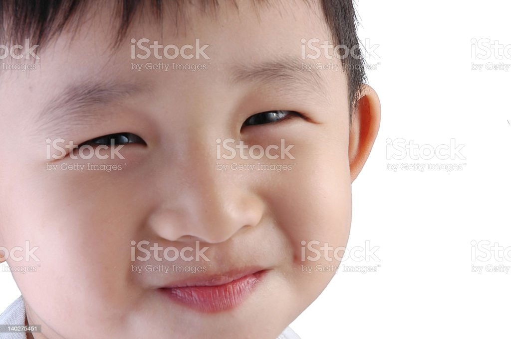 Asian Kid royalty-free stock photo