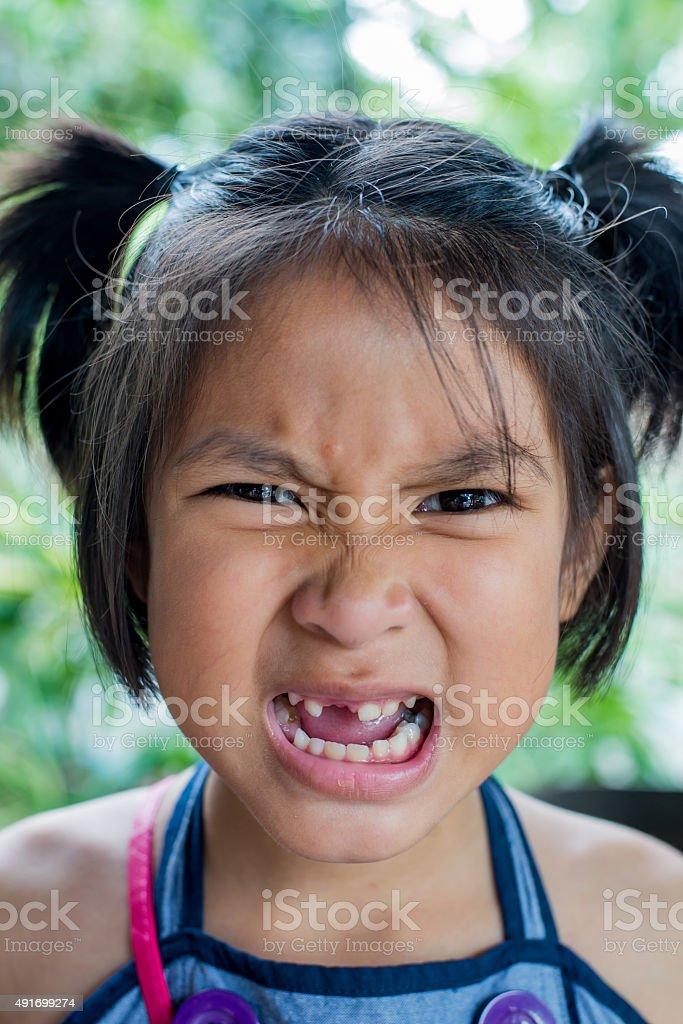 Asian kid stock photo