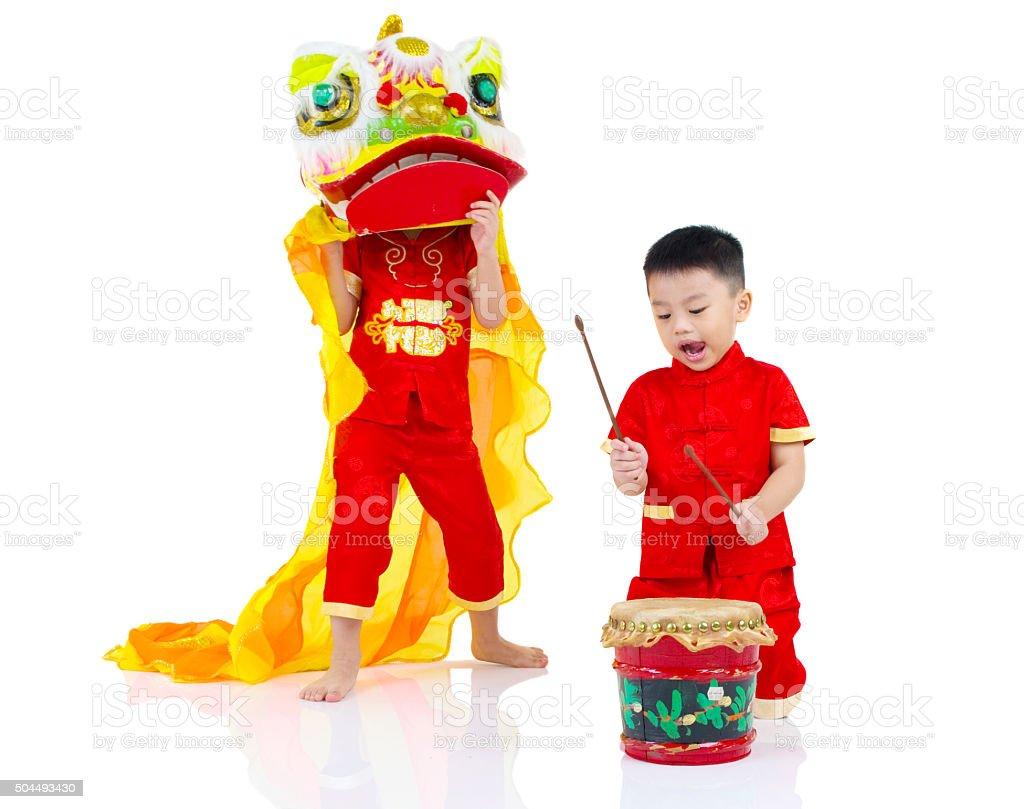Asian kids stock photo