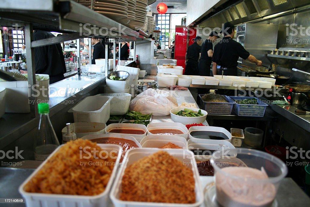 Asian Kitchen royalty-free stock photo