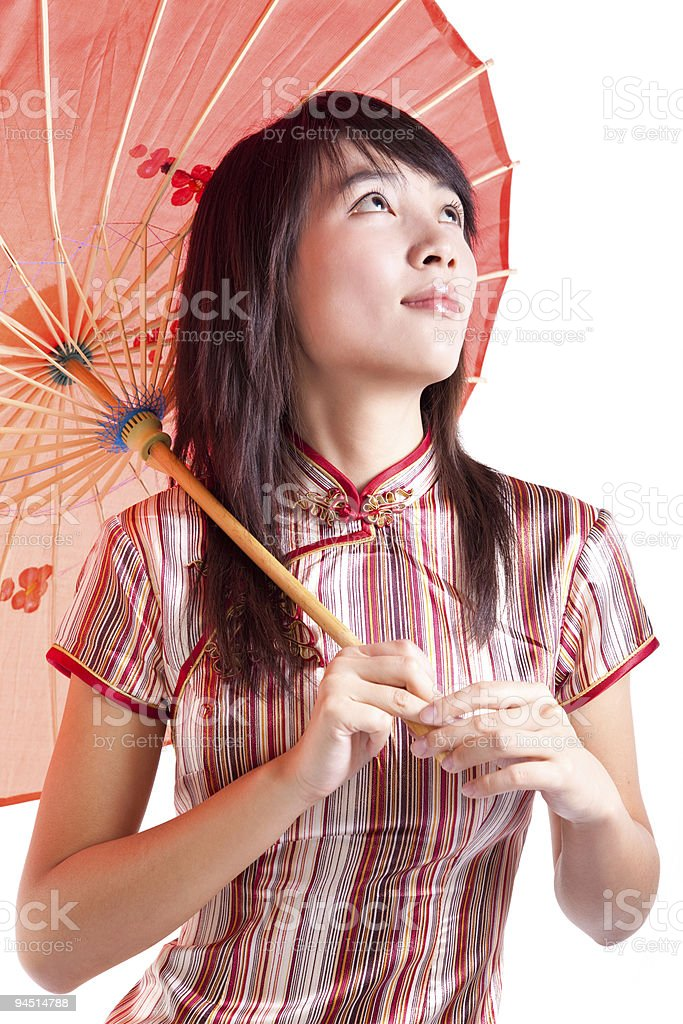 Asian lady royalty-free stock photo