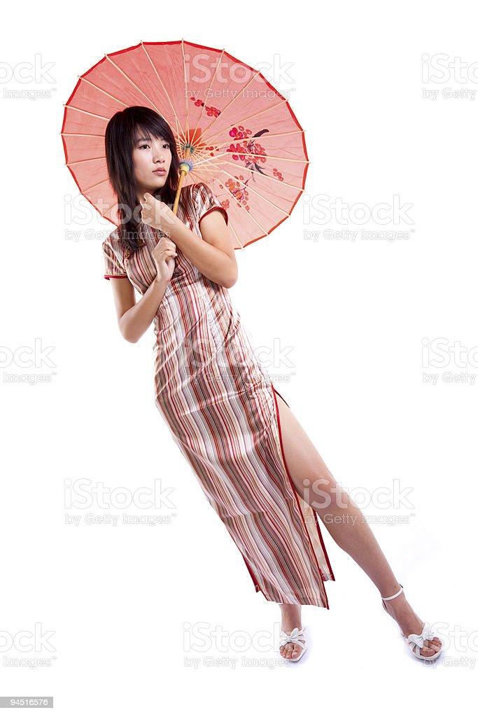 Asian lady royalty-free stock photo
