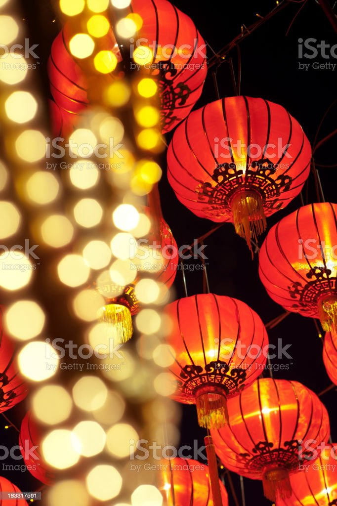 Asian Lantern Festival royalty-free stock photo