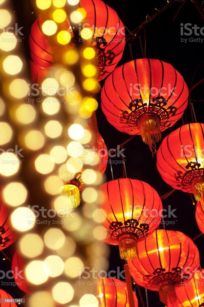 Asian Lantern Festival stock photo