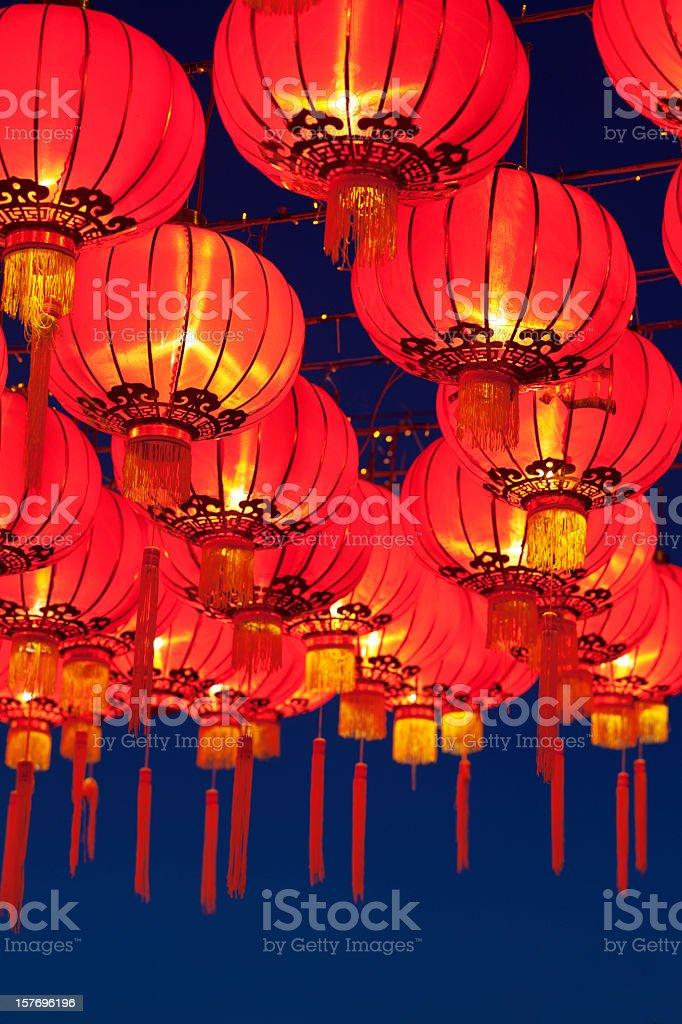 Asian Lanterns Festival stock photo