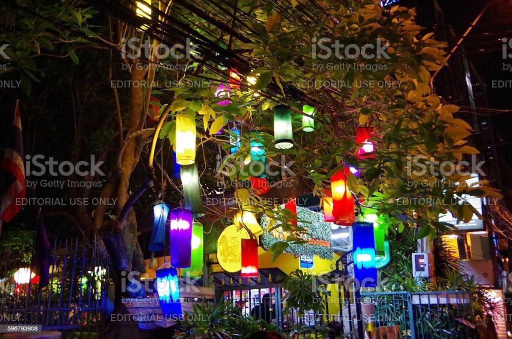 Linternas asiática foto de stock libre de derechos