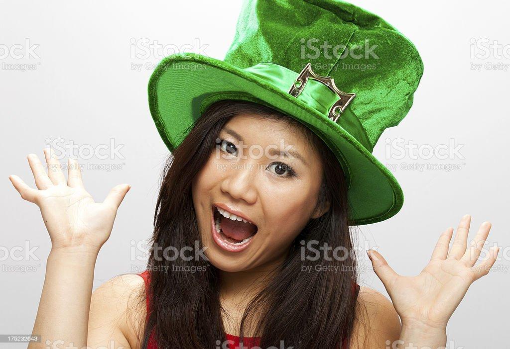 Asian Leprechaun stock photo