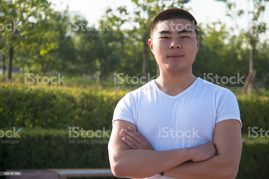 Asian man stock photo