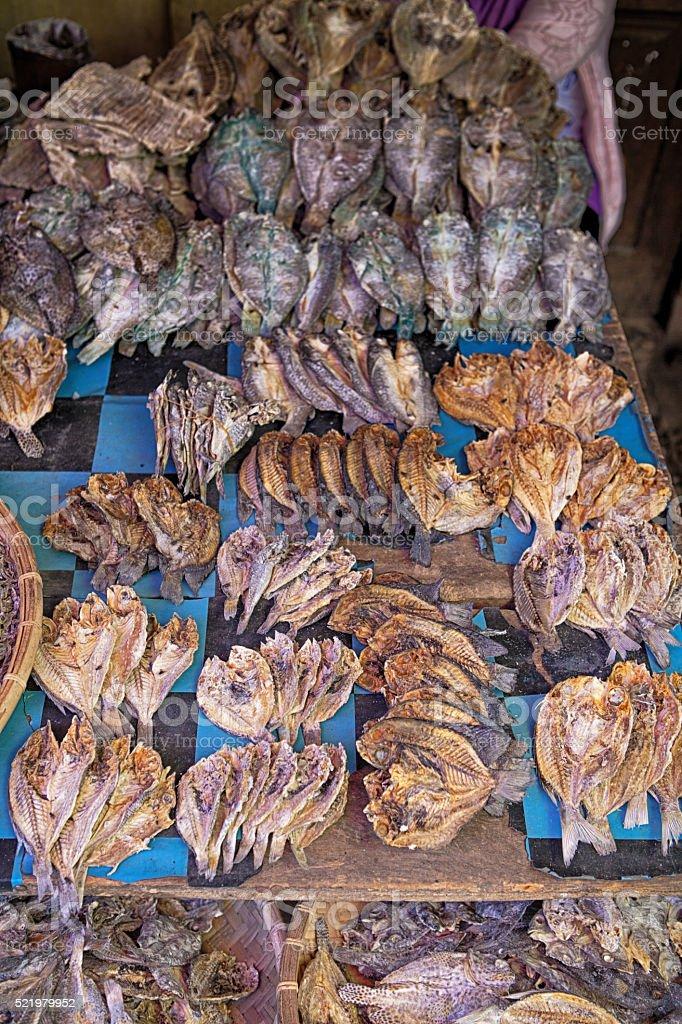 Asian Market stock photo