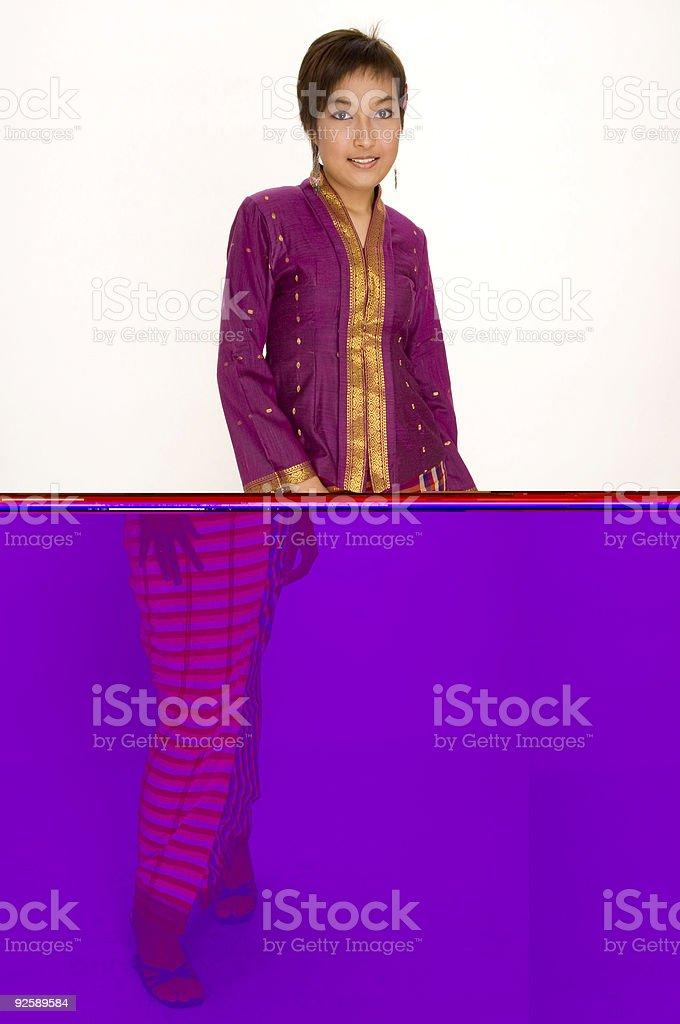 Asian Model 3 royalty-free stock photo