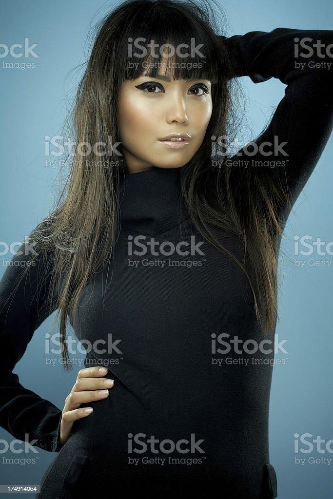 Asian Model stock photo