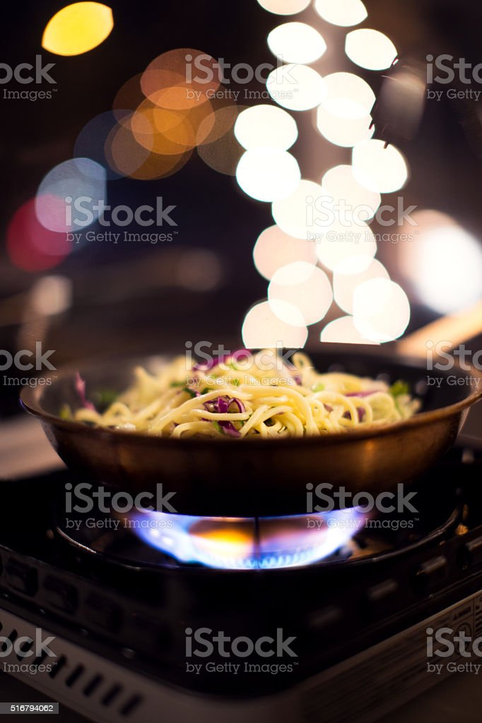 Asian Noodle stock photo